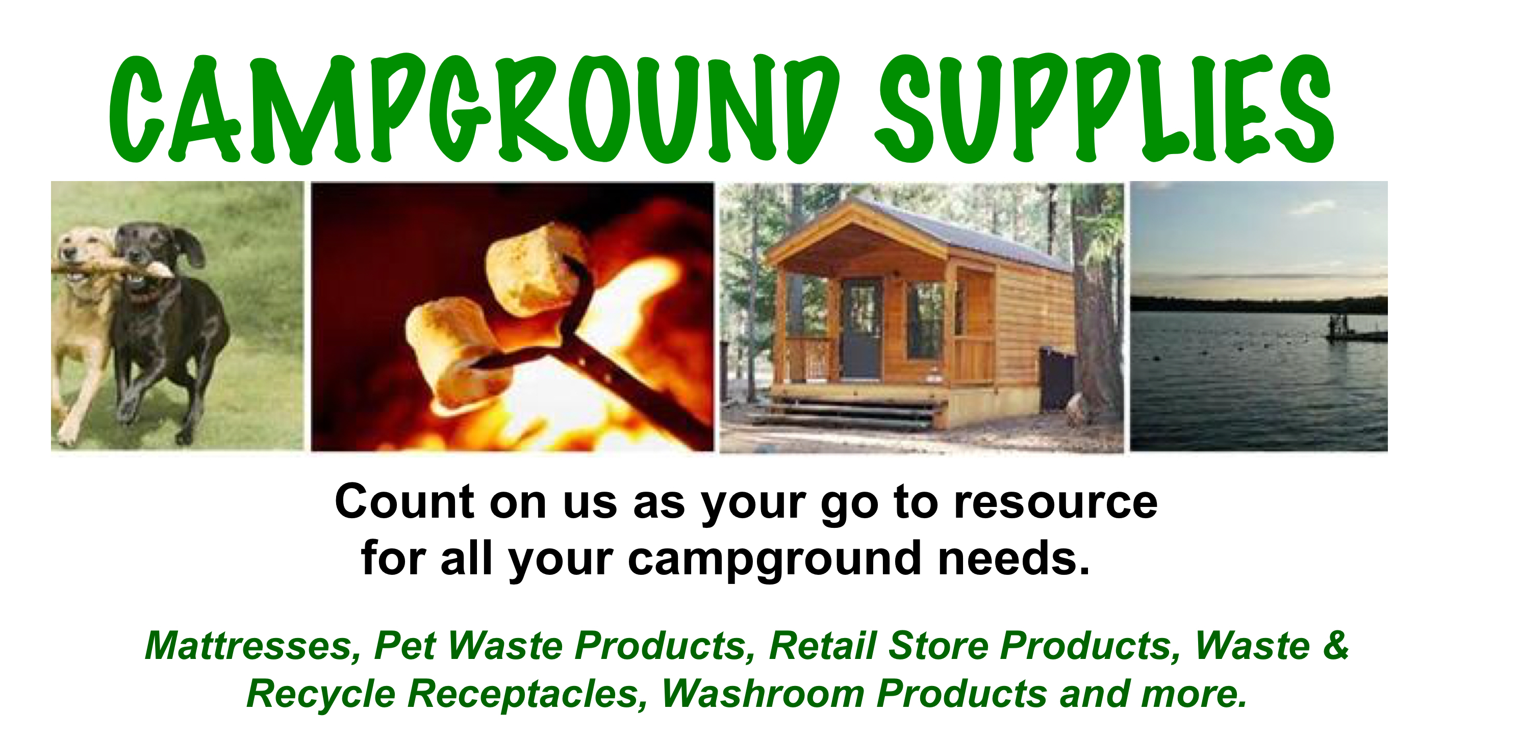 Come Visit Us at the Upcoming 2018 Spring Campground Tradeshows