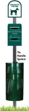 NEW! Tie - Handle Pet Waste Station with 400 Bags & 25 Can Liners (COPY)