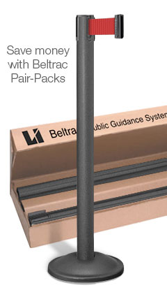 Beltrac® Contempo Crowd Control Stanchion only $99