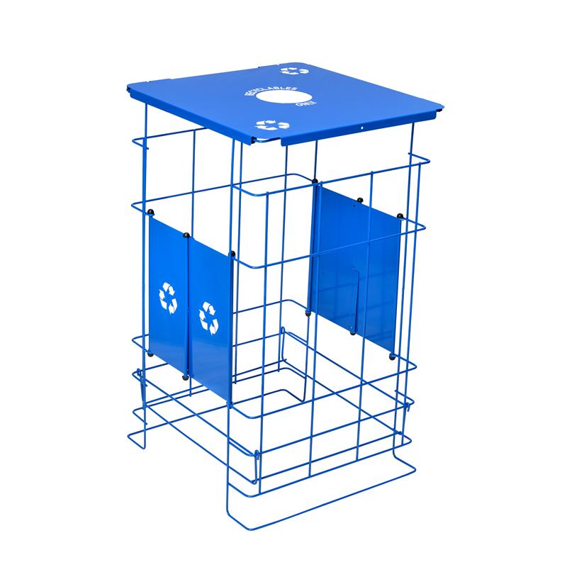 NEW! Clean Grid EXL Fully Collapsible Recycler Receptacle