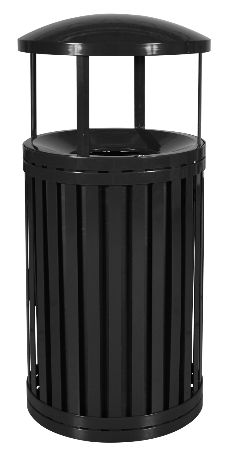 45 Gallon Streetscape Outdoor Trash Receptacle