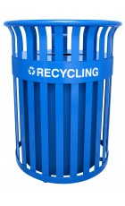 35.5 Gallon Streetscape Classic Outdoor Recycling Receptacle