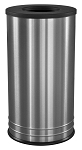 18 Gallon International Collection Stainless Steel Waste Receptacle