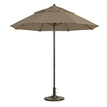 Windmaster 7.5ft Fiberglass Umbrella Taupe