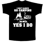 Campground T-shirts - 6 Great Styles!