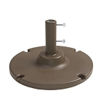 35 lb. Table Umbrella Base Bronze