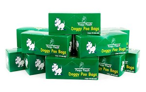 Pet Waste Bags (10 boxes of 200)   2000 Bags  (PP-RB-200)